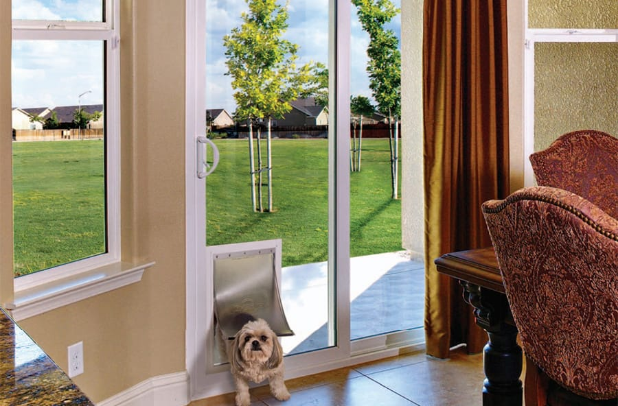 Pet Doors by Anlin Windows and Doors
