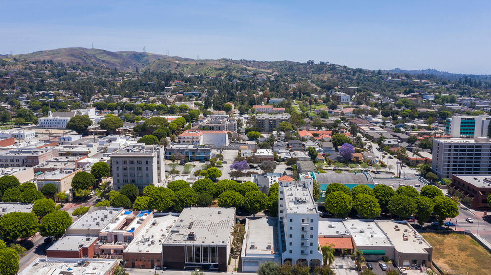 Aerial View of Whittier