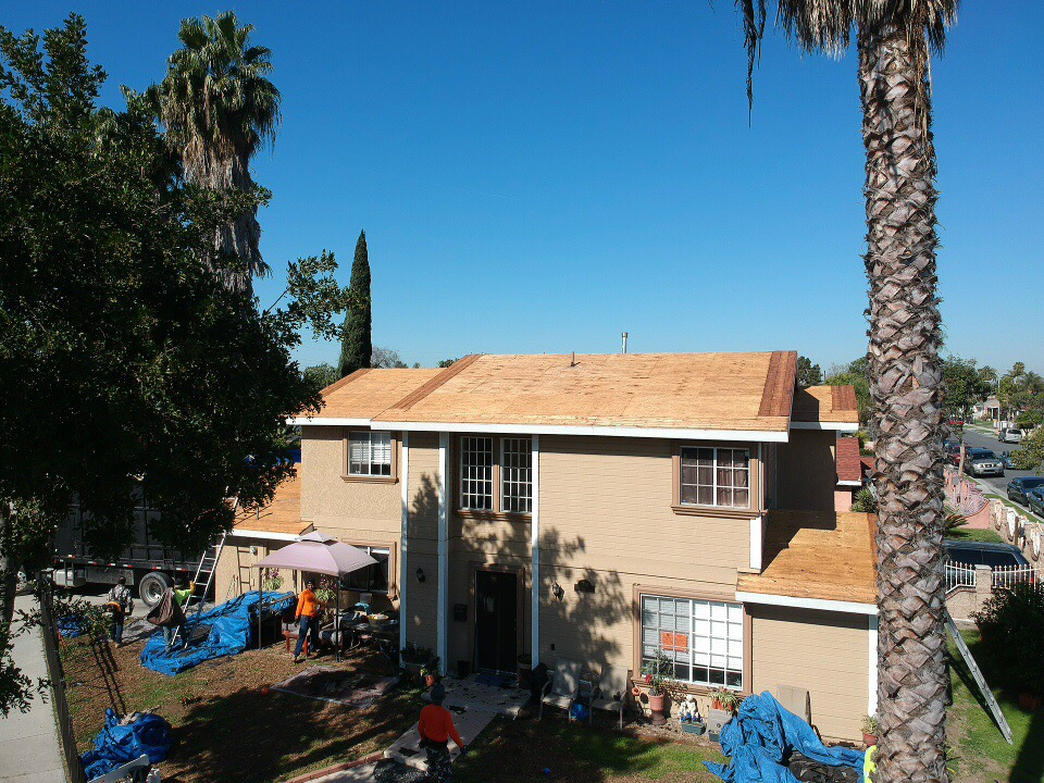 Roof Installation in Lynwood, CA before